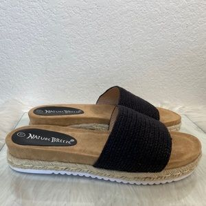Nature Breeze Sz 11 Slip on rope style, very comfy